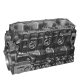 Блок цилиндров FOTON-1039,1049C дв.Isuzu гильзованный