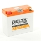 Аккумулятор для мотоциклов DELTA 12V 12 а/ч AGM CT 1212.1 YT12B-BS залит заряжен