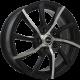 Диск колесный 14 литой X-RACE af-14 bkf