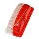 Рассеиватель фонаря GMAK G05 бело-красный