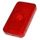 Рассеиватель фонаря GMAK G17 красный