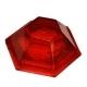 Рассеиватель фонаря GMAK М06 красный