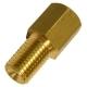 Переходник тормозных трубок WP М10х1.25(F)-М10х1.25(M) S=13