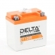 Аккумулятор для мотоциклов DELTA 12V 5 а/ч AGM CT 1205 YTX5L-BS обр.полярность залит заряжен