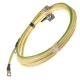 Провод АКБ ЗИЛ-5301 S=25мм(конусные клеммы)к-т