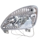 Фара ГАЗ-3302 левая Н/О светодиодные ходовые огни
