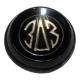 Крышка колеса рулевого ЗАЗ-965 реплика чёрная АВТОДОКА