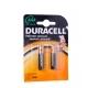 Батарейка DURACELL AAA LR03-BC2 ALCALINE NEW 2шт