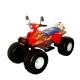 Квадроцикл аккумуляторный красн 122см Биг Рейсер12В