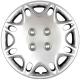 Колпаки колесные R-13 декоративные SKS 103 эластичные к-т