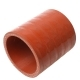 Патрубок МАЗ интеркулера силикон L=67мм,d=51мм