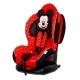 Автокресло детское от 9 до 25 кг SIGER ISOFIX Микки Маус красный 1-7 лет группа 0+/1/2
