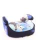Автокресло детское от 22 до 36 кг SIGER Бустер Холодное сердце синий 6-12 лет группа 3