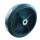 Колесо для тележек D=100мм,Dотв=20мм, 1000кг чугунное, обрезиненное МФК