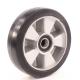 Колесо для тележек гидравлических D=180мм 550кг алюминиевое, резина МФК