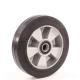 Колесо для тележек гидравлических D=200мм 600кг алюминиевое, резина МФК