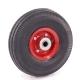 Колесо для тележек пневматическое 3.50-4 D=250мм, Dотв=20мм 170кг стальное МФК