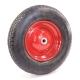 Колесо для тележек пневматическое 4.80-8/4.00-8 D=400мм, Dотв=16мм 220кг стальное МФК