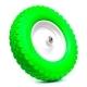 Колесо для тележек литое 4.80/4.00-8 D=380мм, Dотв=12мм 230кг стальное, полиуретан МФК