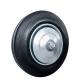 Колесо для тележек литое D=200мм 185кг стальное, резина МФК