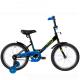 """Велосипед 18""""NOVATRACK TWIST чёрный тормоз нож. корот.крылья"""