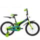 """Велосипед 20""""NOVATRACK FLIGHTLINE чёрный пластиковые короткие крылья"""