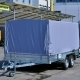 Прицеп легковой Лав 81013А R-13 двухосный Кузов мм 3500х2000х400 тент H=1400мм г/п 345кг