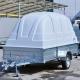 Прицеп легковой Лав 81012А R-14 Кузов мм 3500х1500х400 пласт. швед. крышка H=1400мм г/п 450кг