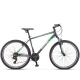 "Велосипед 26"" STELS NAVIGATOR 590 рама 18"" cерый/зелёный 21-ск."