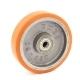 Колесо для тележек гидравлических D=200мм 900кг чугунное EMES