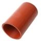 Патрубок МАЗ насоса водяного отводящий силикон L=130мм,d=70мм